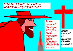 The Spanish Inquisition may return.