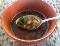 Recipe for Potato-lentil Soup