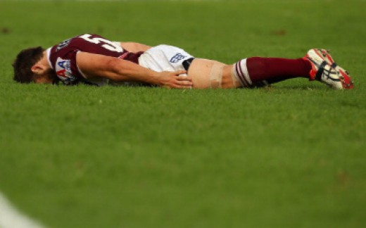 Soccer Player Planking