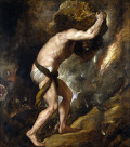 The Myth of Sisyphus from Ancient Greece