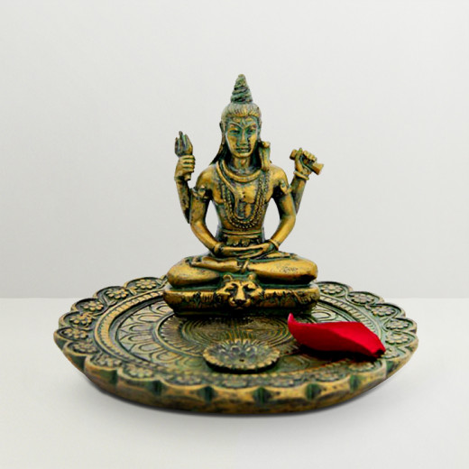 Idol of Lord Shiva is regarded as the destroyer of all evils