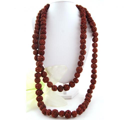 Rudraksha necklace