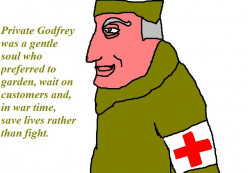 An episode of the comedy Dad's Army will illustrate how close Great Britain came to being conquered by Germany.
