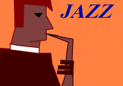 Jazz, in particular American Jazz, was popular during the war years in Britain.
