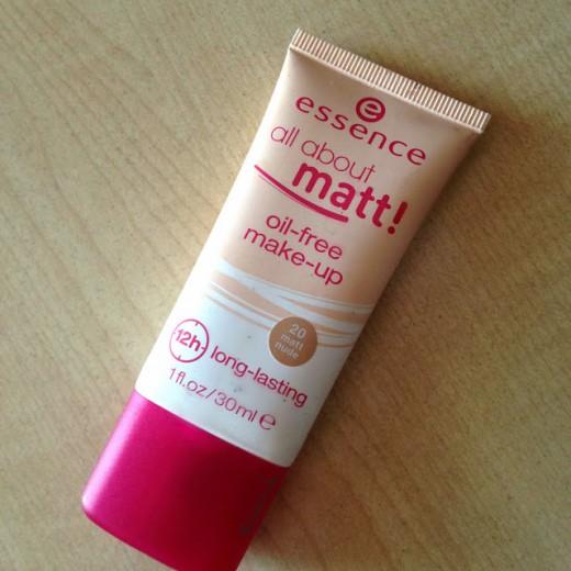 Essence All About Matt! foundation bottle.