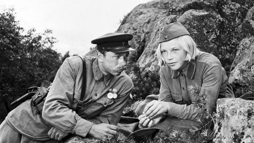 Vaskov bonded with Lisa throughout the movie, promising to sing with her once their mission was over.