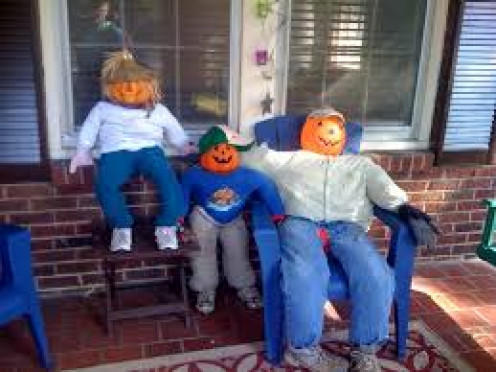 These are scarecrow impostors. See their jack-o-lantern heads?