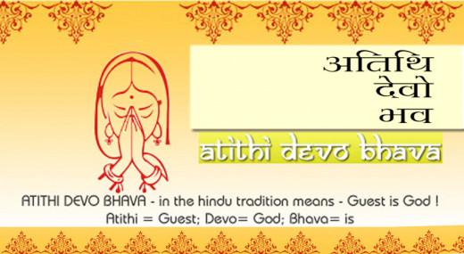 'Athithi Devo Bhava'