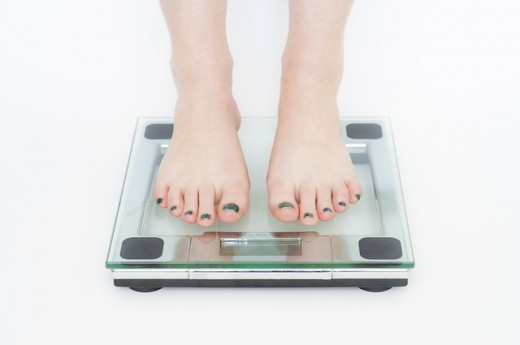 Weighing themselves multiple times during the day is a sign of Anorexia