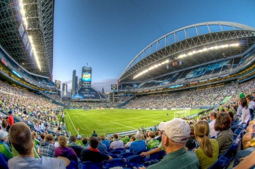 Qwest Field is a popular sports and tourist attraction in the area.