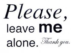 Leave Them Alone