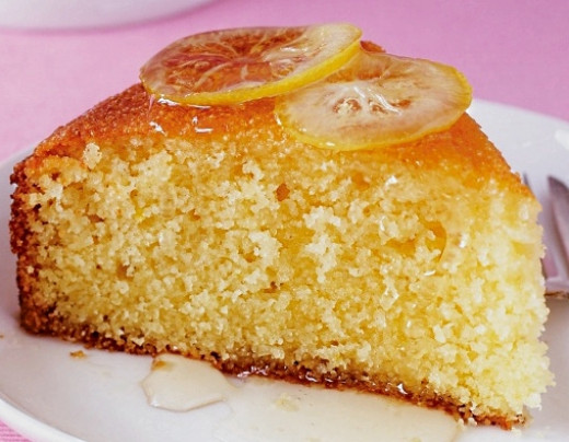 Extra honey can be drizzled over the cake when it is hot to create a delightful dessert.