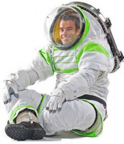 The Z-1 Spacesuit allows astronauts the ability to truly move their body parts and to bend and squat as well.