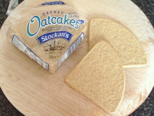 Stockan's Scottish oatcakes from the Orkney Islands