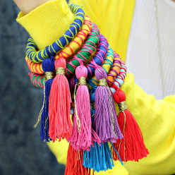 Rope and Tassel Bangles DIY