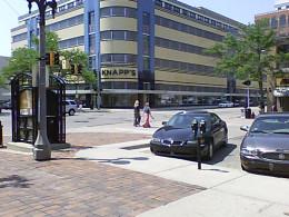 Knapp's Building from Washington Square and Washtenaw corner
