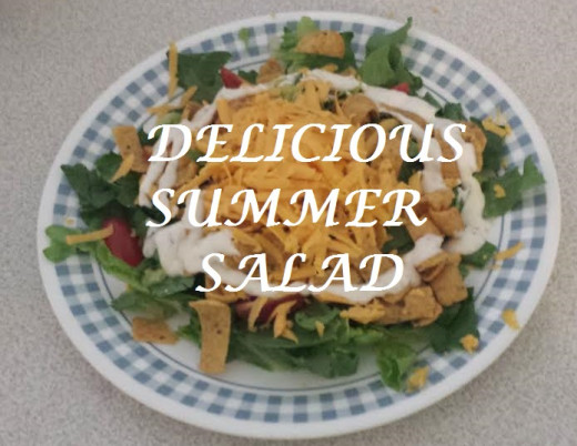 This salad is perfect as a main or side dish.  Full of protein and tasty.  The whole family will love it.