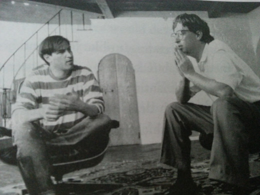Jobs and Microsoft CEO Bill Gates in 1991. The two titans of the technical world, born the same year, had very different outlooks, talents and methods and often clashed.