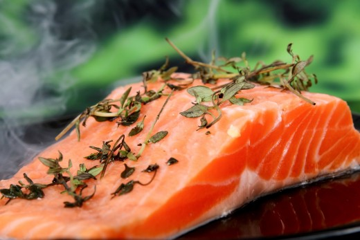 Wild salmon contains omega-3 fatty acids and vitamin D, both of which may improve memory.