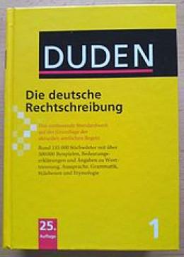 A German dictionary