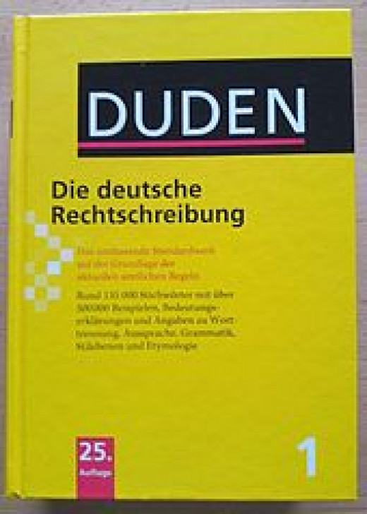 A German dictionary
