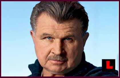 "NFL legend, ""Iron"" Mike Ditka."