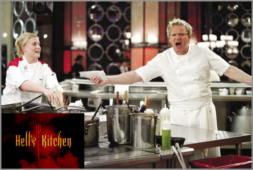 Ramsay loses his cool thanks to a contestant who over-cooked a dish.