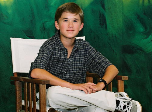 """Haley Joel Osment in 2001. He played Cole Sear in """"The Sixth Sense."""""""