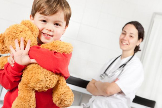 Only children are healthier as a result of receiving consistent medical care.  Of course, such medical care coupled w/better nutrition pay immense dividends into their adulthood & later years. They remain healthier for a longer period of time.