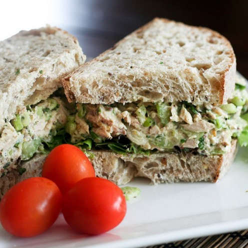 Tuna fish is one of the foods that the American Heart Association heartily approves for a great meal.