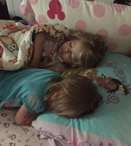 sleeping babes