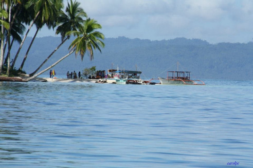 Boslon Island - White Beach Island, Britania Islands, Surigao del Sur, Philippines
