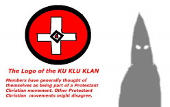 The K.K.K were active in the USA.