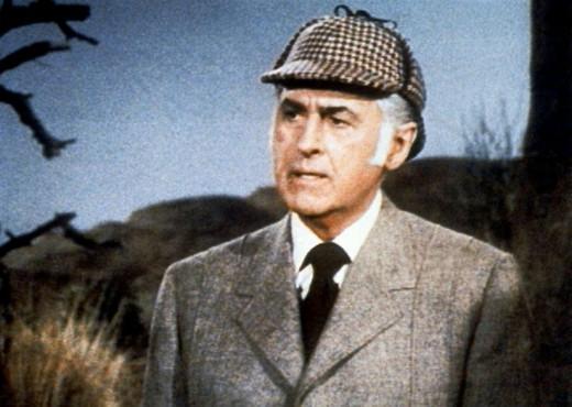 Stewart Granger in The Hound of the Baskervilles