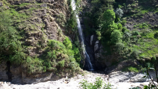 A beautiful waterfall near Kalpeswar