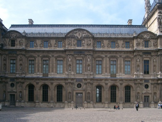 The Lescot Wing of the Louvre