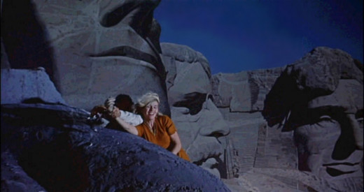 A chase scene on Mt. Rushmore was Hitchcock's original inspiration for the entire film.