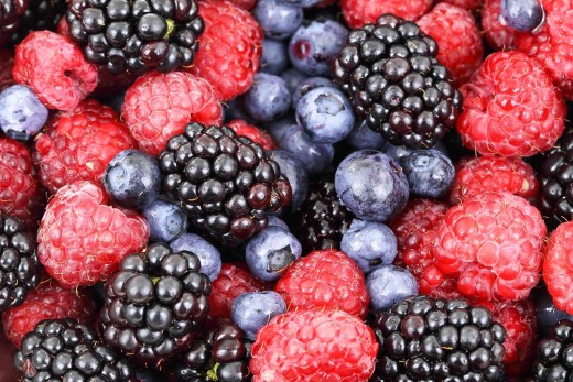 Berries can boost memory.