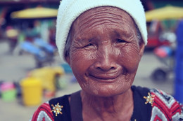 As we age wrinkles will appear.