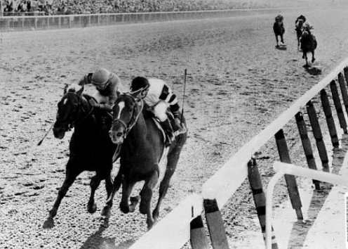 Affirmed, just one of the 11 Triple Crown winners.