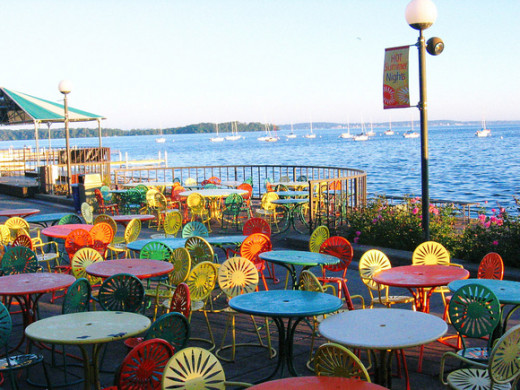Memorial Union Terrace at UW Madison