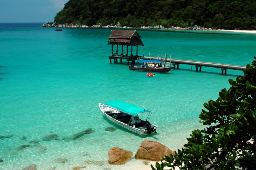Beaching, Swimming and Fishing in the Perhentian Islands
