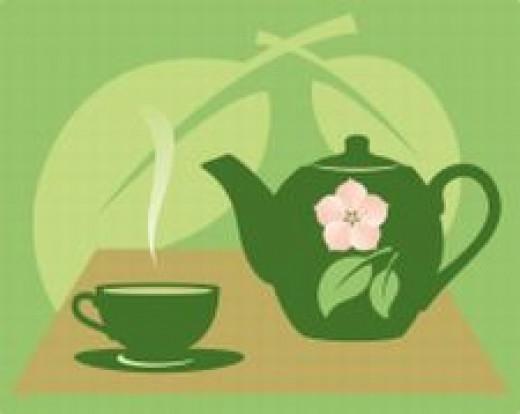 Green tea is full of powerful antioxidants.