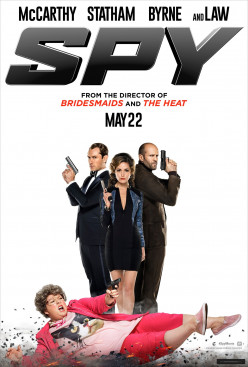 "Have you seen the funny movie the ""Spy"" yet?"
