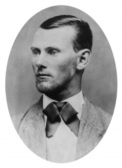 James in a portrait- style photo.