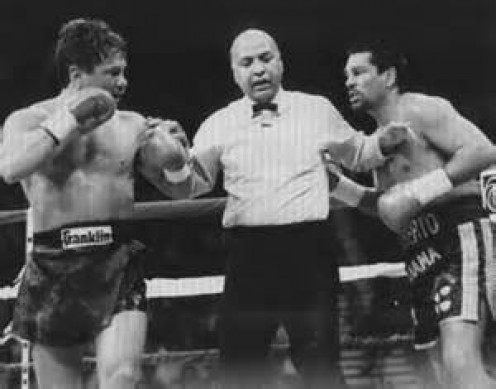 Vinny Paz fought Roberto Duran twice winning both bouts which took place in the super middleweight division.
