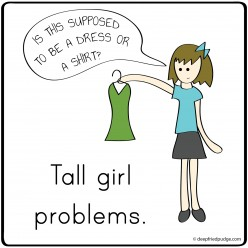 What It's Like to Be a Tall Woman