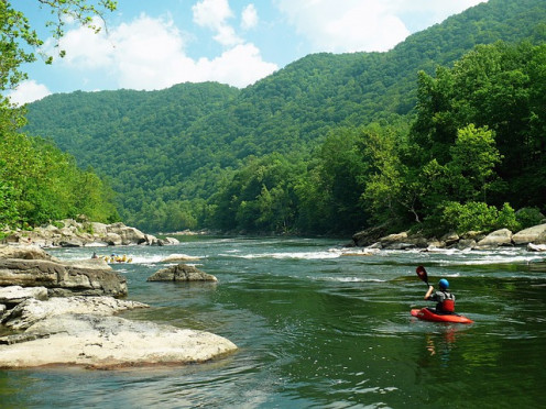 Rafting on the New River