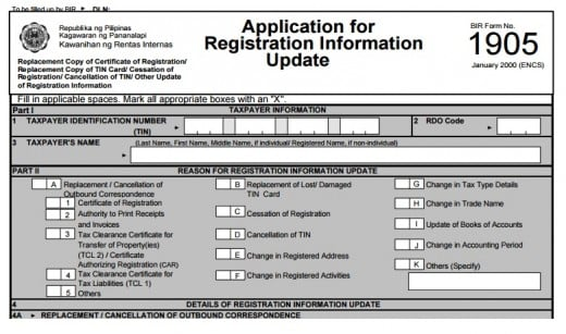 government of ontario how to change registered business name
