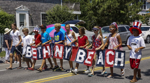 This group is known as the Bethany Beach Bums. I just wish I had their place or origin.